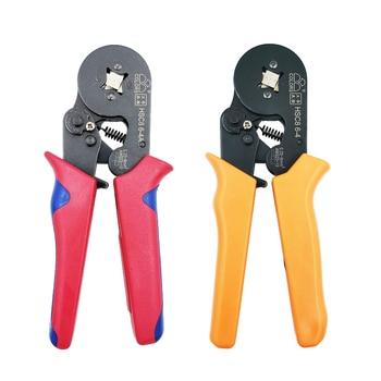 HSC8 6 4A/6 4 0,25 10mm2 crimpen zangen elektrische rohr terminals box mini marke clamp werkzeuge-in Zangen aus Werkzeug bei