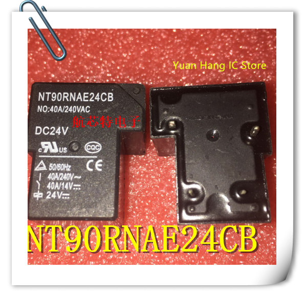 1PCS/LOT  100% New Original NT90RNAE24CB DC24V Ford C Relay 40A / 240VAC