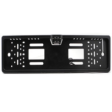 New Europe License Plate Frame 170 European Universal Car License Plate Frame Auto Reverse Rear View Backup Camera 4 LED