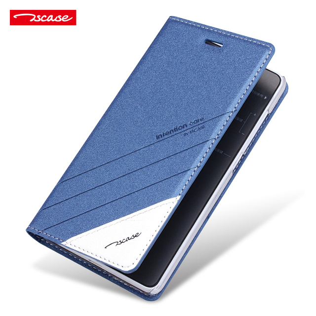 release date dc9c2 5341f Redmi 4 Standard Case Cover Flip PU Leather Original Tscase Phone Case for  Xiaomi Redmi4 Magnetic Protective Cover Shockproof