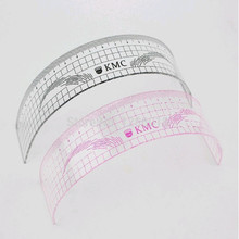 2PCS/Lot Fashion U Shaped Permanent Makeup Eyebrow Positioning Ruler Microblading Eyebrow Measurement Tool