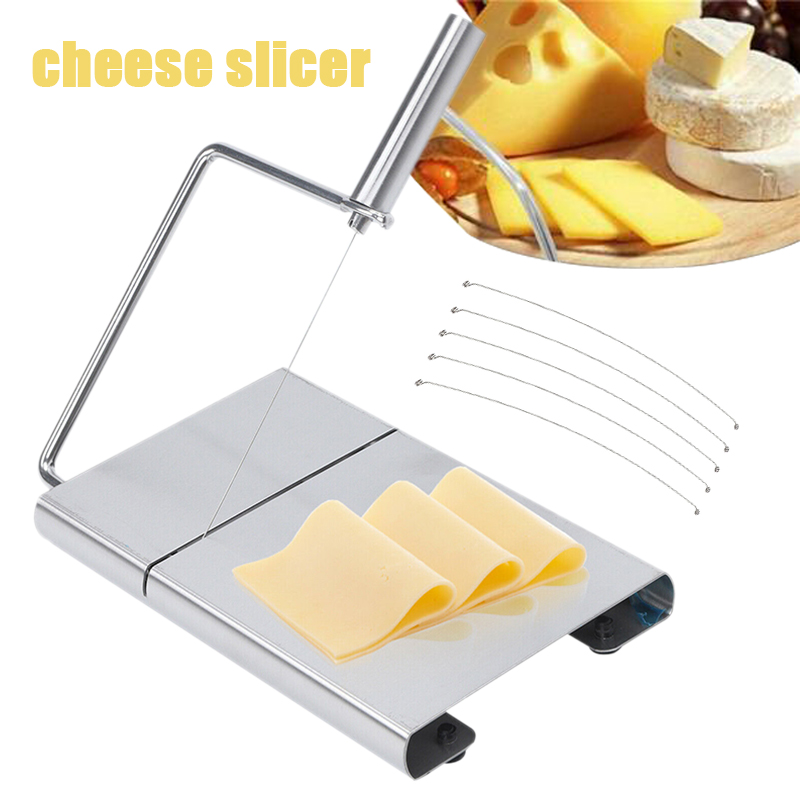 Stainless Steel <font><b>Cheese</b></font> <font><b>Slicer</b></font> Cutting <font><b>Wire</b></font> Cutter <font><b>Cheese</b></font> Butter <font><b>Slicer</b></font> Kitchen Accessories image