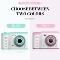 Children's Camera 2.8 Full HD Touch Screen Digital Camera Dual Lens 18MP For Kids Birthday Gift Support TF Card Video Recording