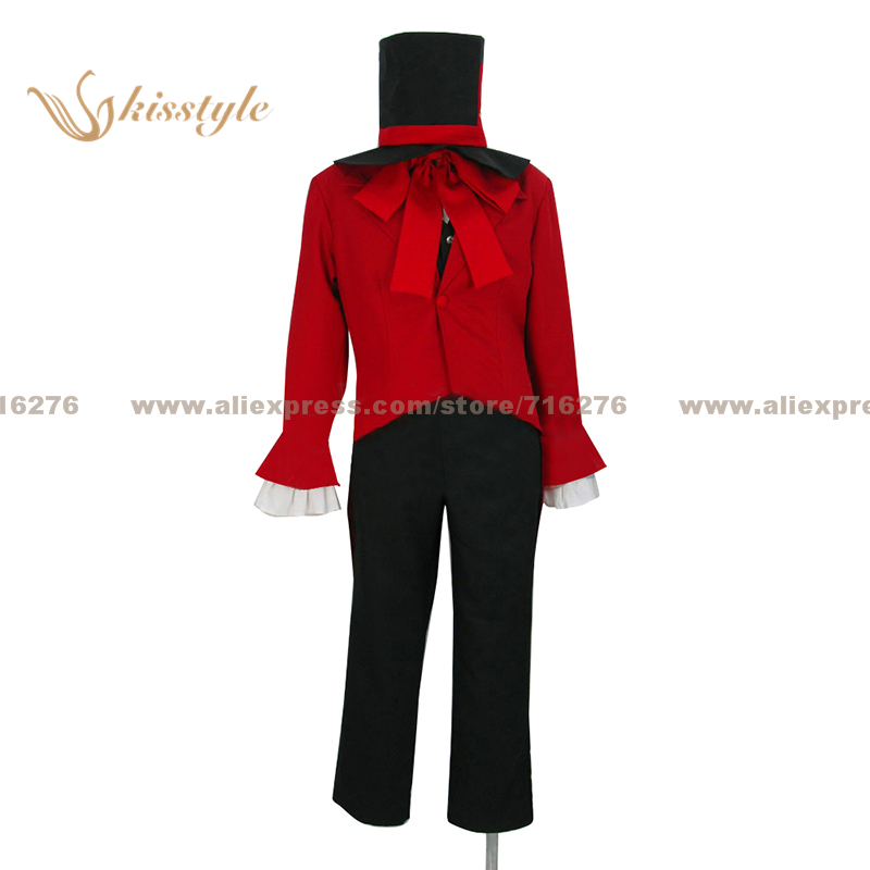 Kisstyle Fashion Ouran High School Host Club Tamaki Suoh Formal Dress Uniform COS Clothing Cosplay Costume,Customized Accepted