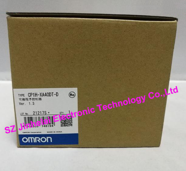 New and original CP1H-XA40DT-D OMRON PLC new and original cp1h xa40 dr a omron plc controller module