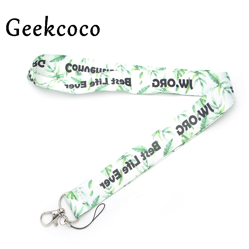 JW.ORG Best Life Ever keychain Accessories Safety Breakaway Mobile Phone ID Badge Holder keys Strap Neck lanyard Camera J0281 image