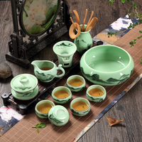 kungfu tea set Chinese porcelain handpainted gaiwan pitcher tea cup bowl tea accessories chadao complete tea sets in China