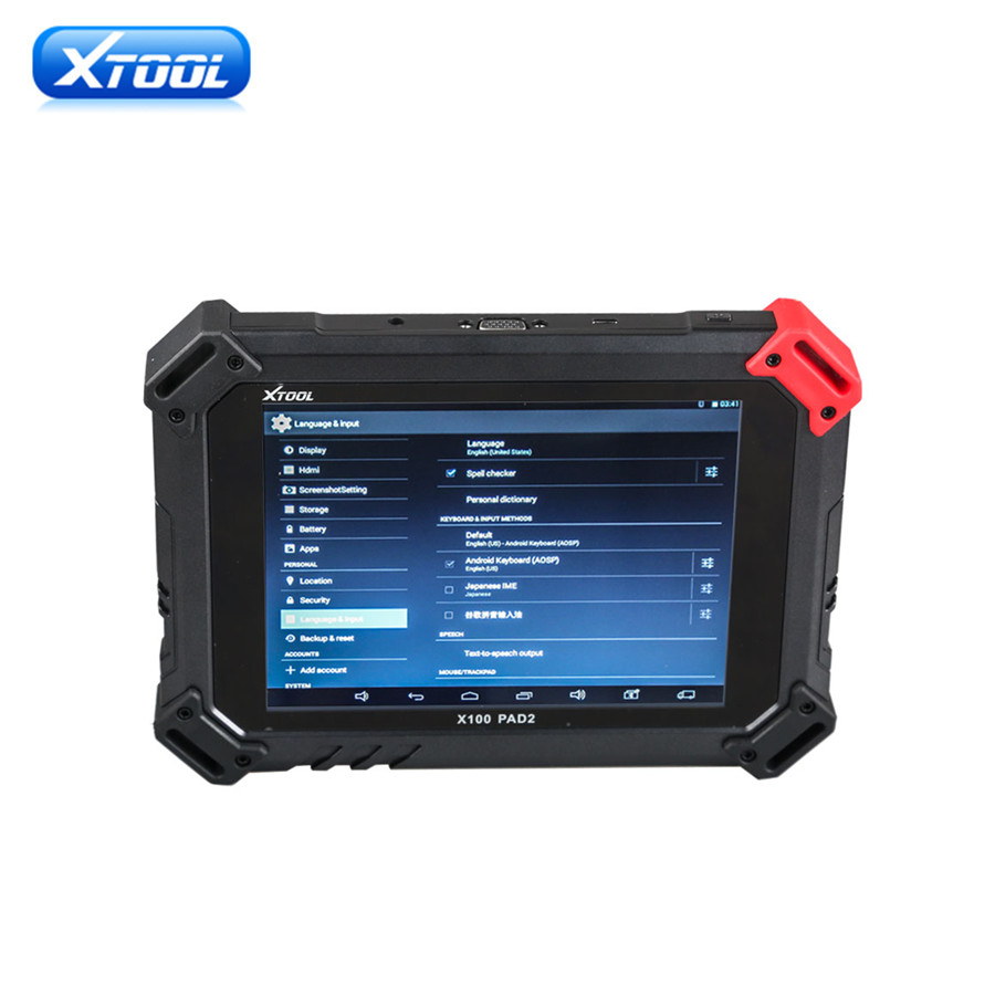Original XTOOL X-100 PAD 2 X100 PAD2 Special Functions Expert Update Version of X100 PAD One-click Update via WIFI adapter