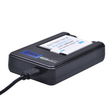 1Pcs EN-EL12 ENEL12 EN EL12 Camera Battery  + LCD USB Charger for Nikon Camera Coolpix S9900 S9700 AW120 S9500 AW110 S70