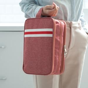 Image 4 - Waterproof Travel Storage Bag Dry Wet Separation Wash Bag Washable Multi Function Organizer Bags for Hiking Travelling Women Men
