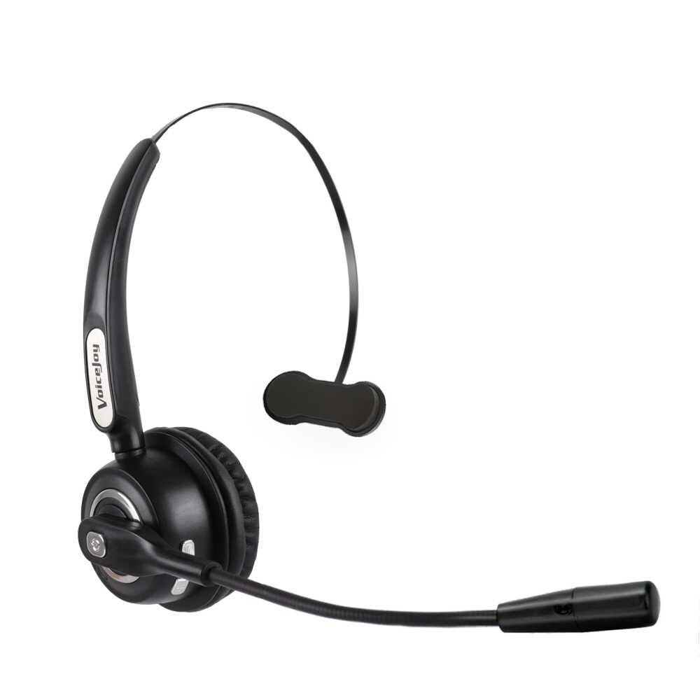 9a3d8f54b38 Truck Driver Headset/Bluetooth Phone Headset with Microphone, Office Bluetooth  Headset with Noise Canceling