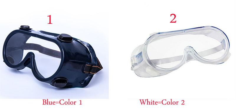 c64b79fc79564 Óculos De segurança lente Dupla Óculos Transparentes Óculos de miopia óculos  de Proteção Anti-choque à prova de poeira à prova de respingos de produtos  ...