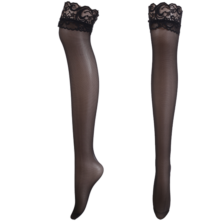 New Fashion Women Lace Long Stockings Sexy Over Knee Thigh High Boot Tights Leg Warmers