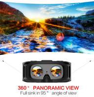 RK3288 Quad Core VR All In One Glasses Android 5.1 2/16GB 5.5inch 1920*1080 3D Glasses Headset Wifi VR Virtual Reality