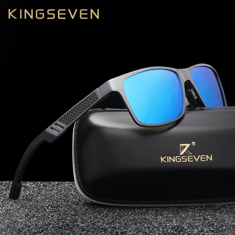 2018 hombres de alta calidad polarizada Gafas de sol hombre conducir Gafas de sol moda Polaroid lente Gafas de sol masculino