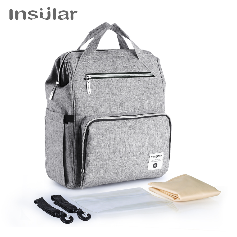 New Fashion Mummy Maternity Nappy Bag Brand Large Capacity Baby Diaper Bag Travel Backpack Designer Nursing Bags For Baby Care стоимость