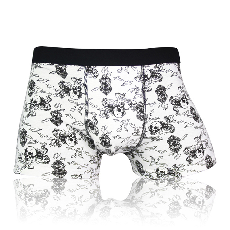hot sale mens underwear boxers gay cotton solid Shorts homme  pull in Male panties wolf  Brand Underpants cueca sexy