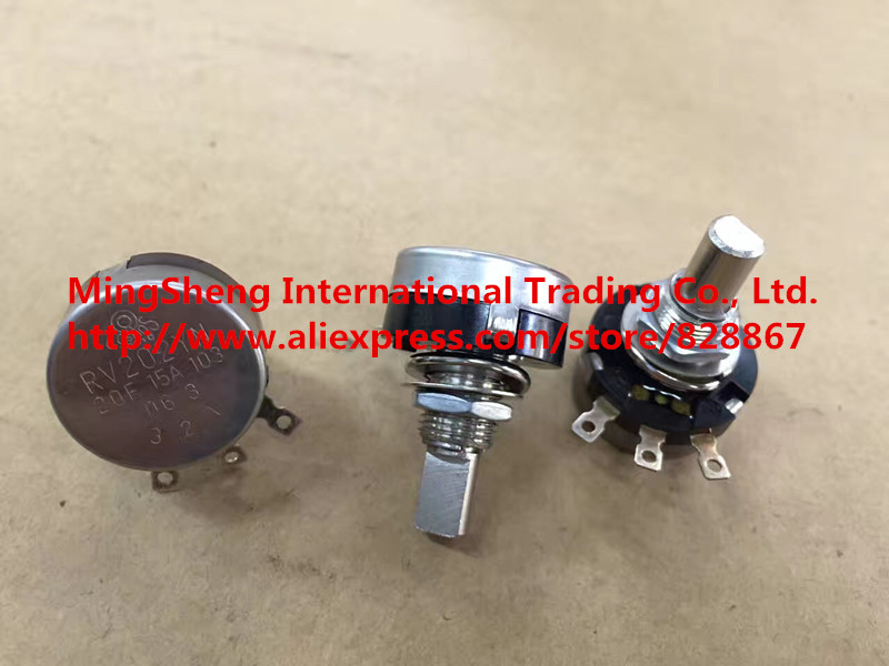 Original new 100% RV202YN 20F 15A103 A10K single potentiometer (SWITCH) цены