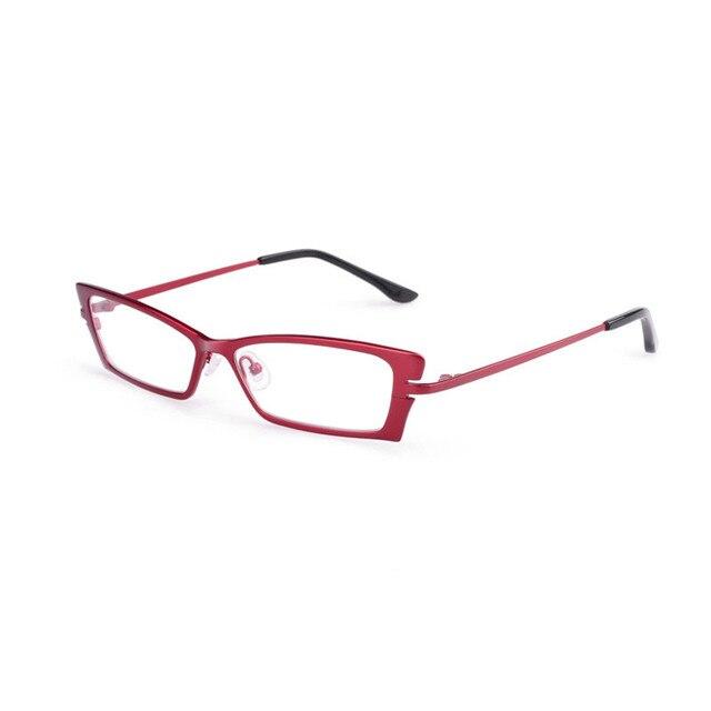 2016 100% Чистый Титан Полный ОЧКИ Кадр миопия дальнозоркости Оптических оправ женщины в стиле Ретро Mulher Armacao de óculos