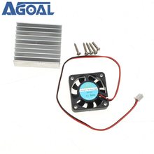 3 In 1 Heat Sink + Cooling Fan + Mounting Screws Kit For 0 30V 0 28V Universal Power Supply Module