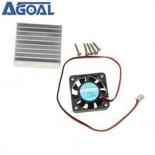 Dissipatore di calore 3 In 1 + ventola di raffreddamento + Kit viti di montaggio per modulo di alimentazione universale 0 30V 0 28V