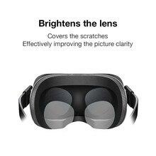 2 пары эластичная ТПУ пленка против царапин Пылезащитная пленка для объектива HD прозрачная пленка для Oculus Quest/Oculus Rift S/Oculus Go