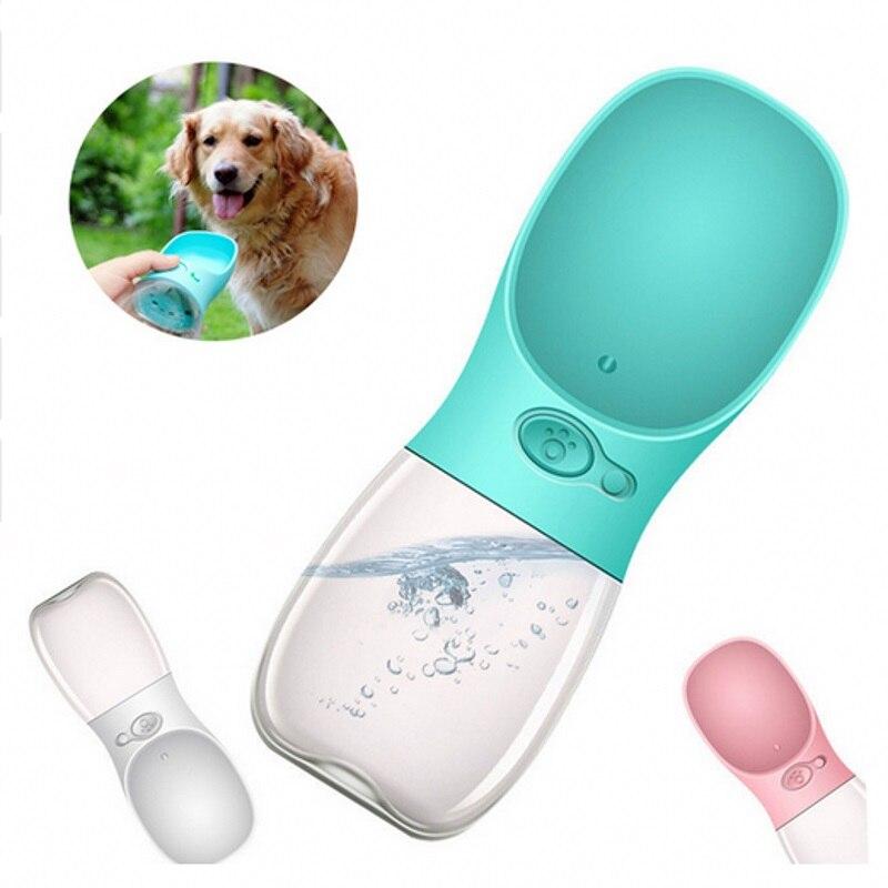 Portable Dog Water Bottle Pet Travel Water Bottle Cat: 2018 New Travel Dog Water Bottle Portable Pet Drinking