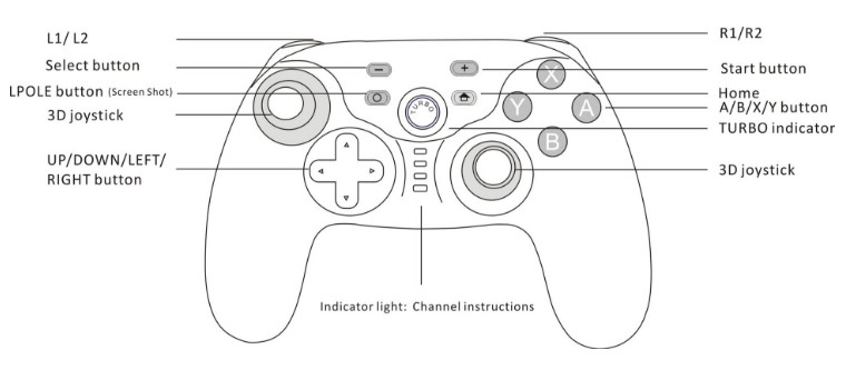 Image 5 - Wireless Gaming Controller Gamepad For Nintendo Switch Joystick-in Gamepads from Consumer Electronics