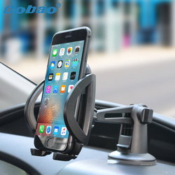 Cobao 360 Degree Mobile Phone Car Holder For Samsung Galaxy S9 S8 Universal Cellphone Car Holder For iPhone X Mobile Support