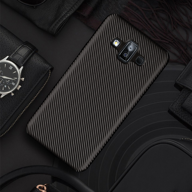 the latest c8829 21f5d US $3.99 |Aliexpress.com : Buy For Samsung Galaxy J7 Duo 2018 Carbon Fiber  Matte Lightweight Slim Silicone TPU Soft Case For Samsung J 7 Duo 2018 Back  ...