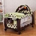Bettr portátil plegable cama de bebé cama de bebé del juego del bebé cama bb elysium multifuncional paño de hierro
