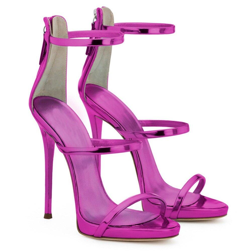 MAVIRS Märke 12CM Extreme High Heels Sandaler Kvinna Pumps Stiletto - Damskor - Foto 3