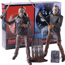 NECA Friday the 13th Jason Voorhees PVC Horror Film Action Figures Collectible Model Toy(China)