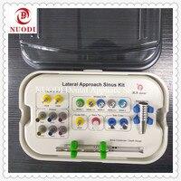 Зубные имплантации инструменты боковой подход комплект синус/зубной имплантат Лифт дрели/Корея зубной имплантат синуслифтинг комплект