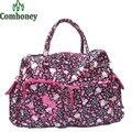 Hello Kitty Travel Bags Shoulder Bag Cartoon Velour Large Capacity Hello Kitty Handbags for Travelling Anime Women's Handbag