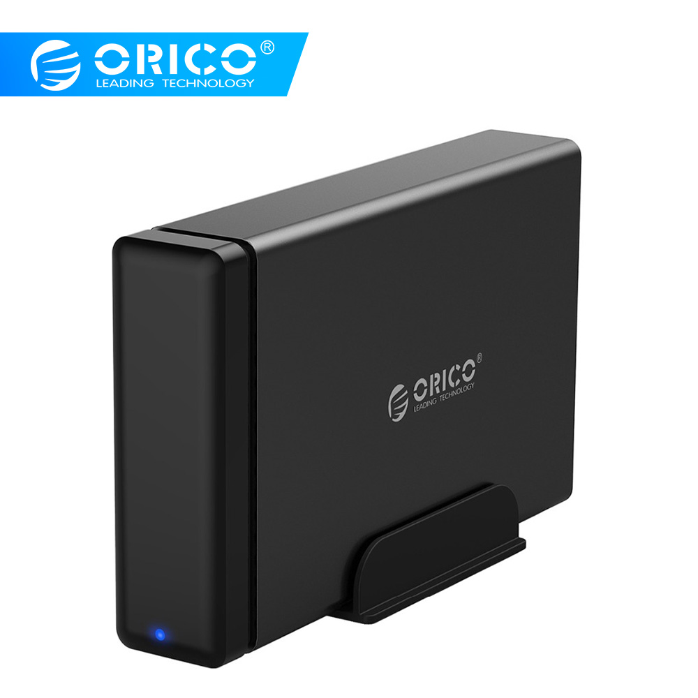 Boîtier de Dock en aluminium ORICO NS100U3 HDD USB3.0 à SATA3.0 Support de boîtier de disque dur UASP 12V capacité MAX 10 to