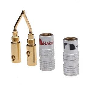 Image 4 - 20 sztuk/zestaw 2mm głośniczek z pinami wtyki bananowe pozłacany przewód kabel złącze dla Audio HiFi muzyczne Adapter do głośnika