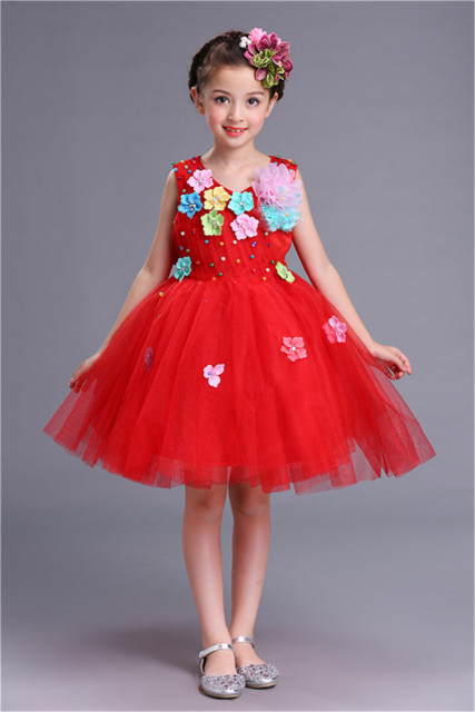 2 To 12 Years Old Children Princess Tutu Party Wedding Dresses For