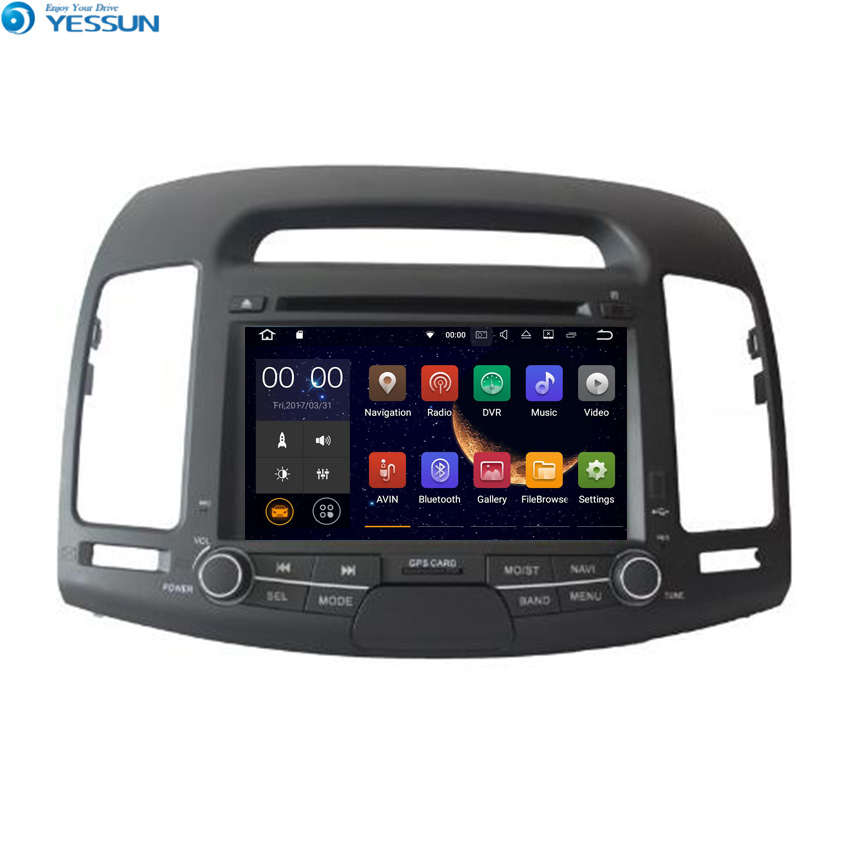 YESSUN For <font><b>Hyundai</b></font> <font><b>Elantra</b></font> <font><b>2008</b></font>~2010 Android Car GPS Navigation <font><b>DVD</b></font> <font><b>player</b></font> Multimedia Audio Video Radio Multi-Touch Screen image