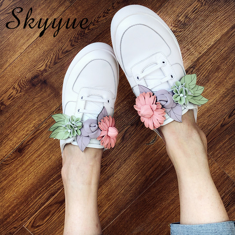 New Fashion Shoes Woman Casual Flats Slippers Genuine Leather Design Woman Cozy Flats Lace Up Mules Slip On Lazy Shoes new 28 color casual boot genuine leather flats shoes shoelace shoes boot lace shoes strap shoeslaces 500pairs lot via dhl ems