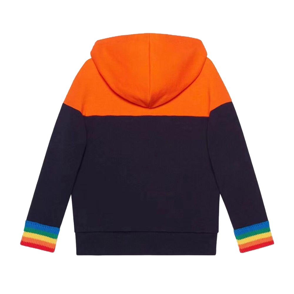 Kid Hoodie Sweatshirt For Boys Girls Outerwear Tops Cotton Soft Sweatshirt Hooded Autumn Clothes in stock hooded pocket curved hem sweatshirt dress