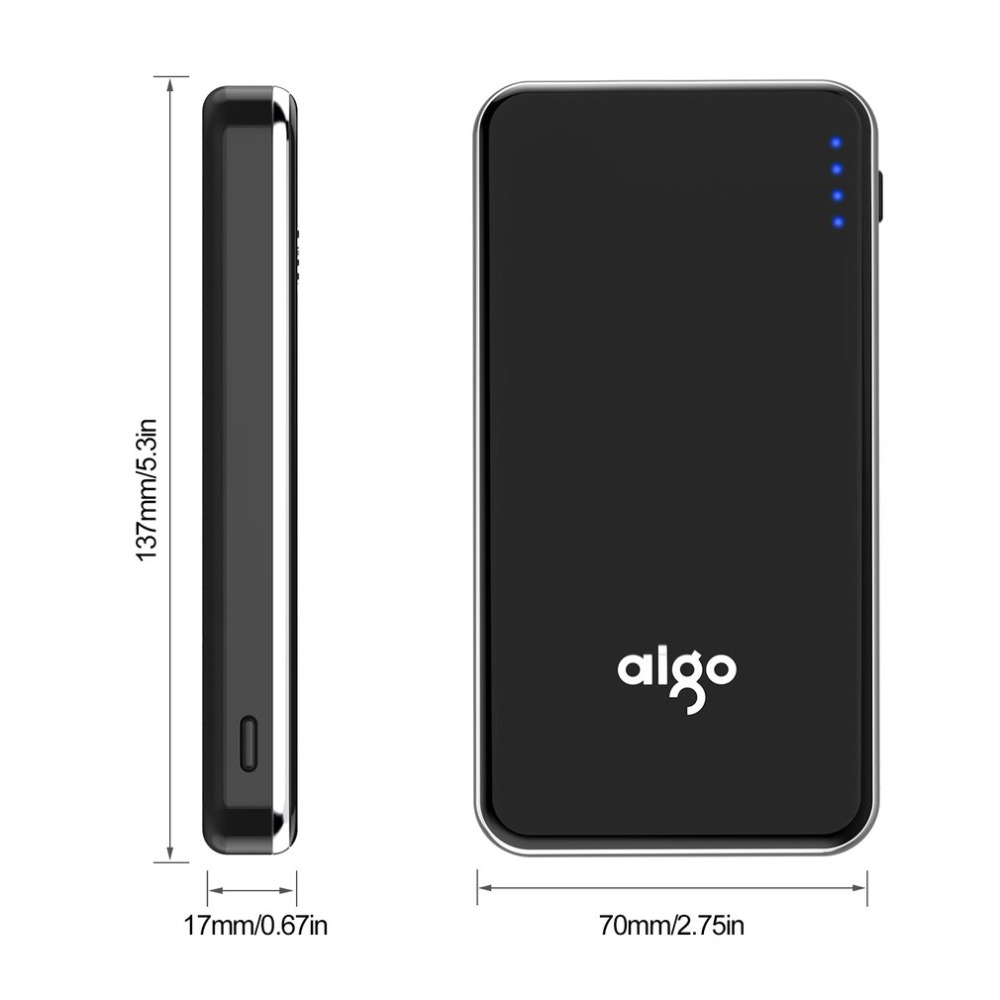 Aigo Power Bank 10000mah External Battery Quick Charge Powerbank For Xiaomi Portable Poverbank Iphone Se 8 Huawei In From