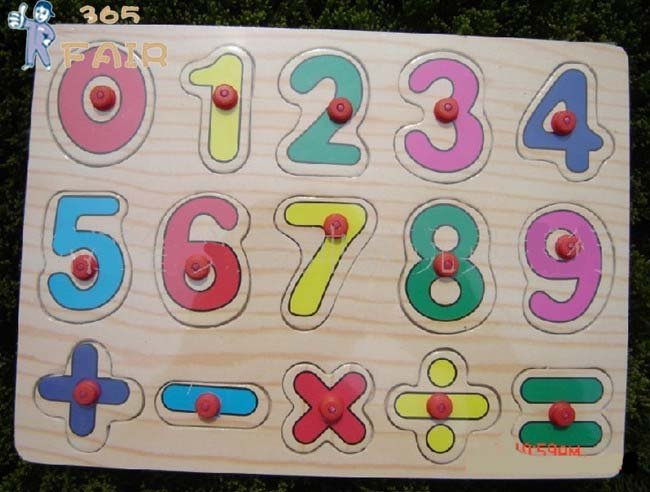 5 шт./лот деревянные головоломки ребенок деревянные головоломки Волшебные кубики образования Игрушечные лошадки Обучающие игрушки в матем...