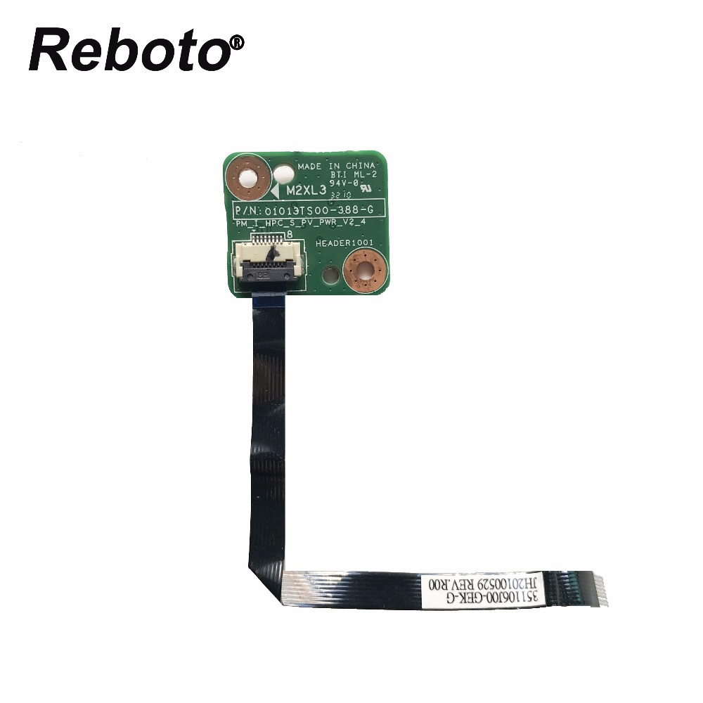 Adroit Reboto Origina For Hp G72 Cq72 G71 Button Series Power Switch Board On/off With Cable 01013ts00 Header1001 100% Tested Fast Ship Computer & Office