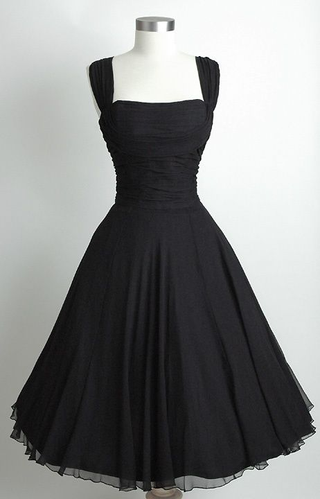 Black Tea Length Wedding Dresses