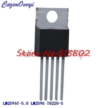 1pcs/lot LM2596T-5.0 TO-220 LM2596T LM2596 TO-220-5 In Stock