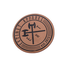 Free Design & Shipping Professional Customized 2.5x5cm  leather label brand/ Leather Garment/jeans Labels 500pcs/lotFL074