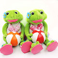 Creative Novel Gifts Swimming Diving Frog Couple Frogs Stuffed Animals Plush Toys Children Kids Presents Valentine Gifts