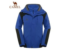 Camel outdoor Men outdoor jacket water-proof and free breathing outdoor jacket male 3f53003