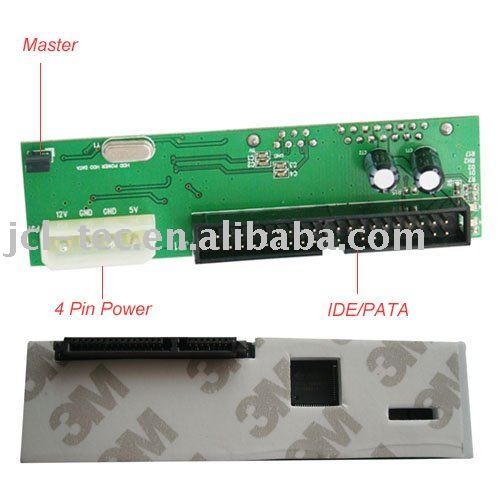 "IDE / PATA TO 2.5""/3.5""SATA adapter card connector converter"